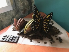 Chocolate Sculpture. Can you believe?!
