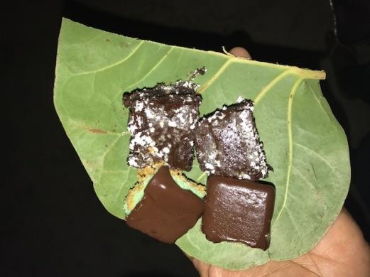 Brownies and Chocolate mint cheesecake